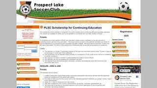Prospect Lake Soccer Club