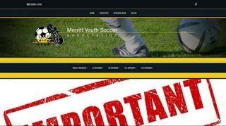 Merritt Youth Soccer Association