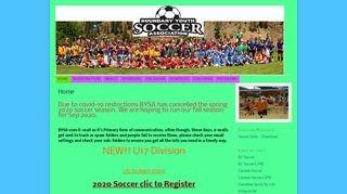 Boundary Youth Soccer Association