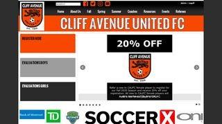 Cliff Avenue United FC
